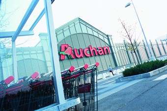Sales at Auchans French stores came under pressure