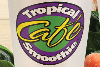 Click through to view Tropical Smoothie Cafes Island Green and Caribbean Carrot Smoothies