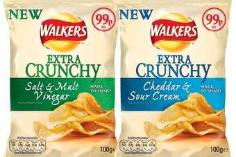 UK: Walkers to launch 'Extra Crunchy' range