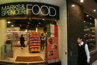 M&S opens first international food outlet in Hong Kong