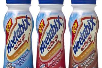 Weetabix forecasts UK breakfast drink sales will reach GBP300m by 2015