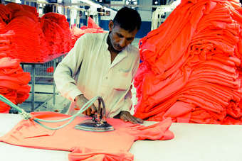 The USAID Firms Project is helping to create jobs in Pakistans knitted garment factories