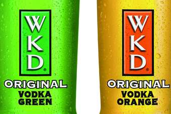 Click through to view SHS Drinks' WKD Green and WKD Orange