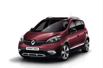 The XMOD has drive to its front wheels only but features Renaults new Extended Grip traction control system