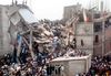 BANGLADESH: Garment factory building collapses killing 86
