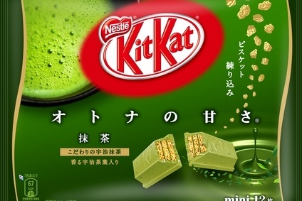 Nestle has sought to develop Kit Kat lines for local consumers - including green tea-flavoured Kit Kat Otona Macha