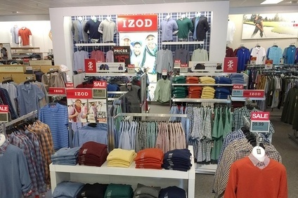 PVH to close Izod retail business