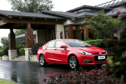 The new Cruze has already been rolled out in China, the first market to get the car