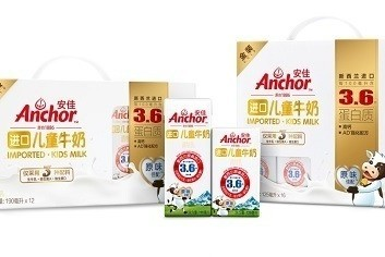 Fonterra has launched the Anchor Kids range in China