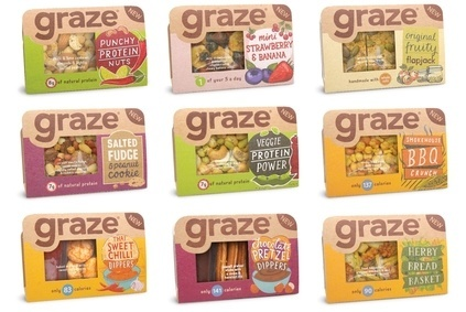 Graze has launched its range into UK retail.