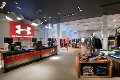 "Under Armour was ""encouraged"" by the response in its footwear and international businesses"