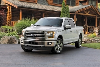 High priced Limited is new for 2016MY F-150 range