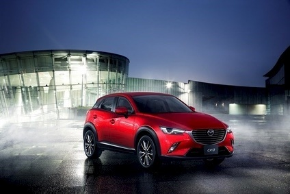 CX-3 went on sale across Europe from June, with almost 10,000 units sold in the region during Q3