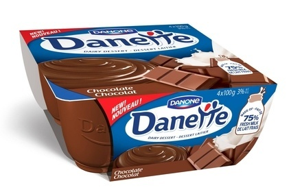 Danone has launched its Danette product in Canada