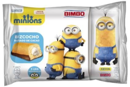 Minions cake launched by Bimbo Iberia