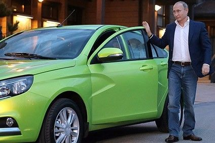 This man will be among those hoping that the new Vesta for AvtoVAZ is a hit in Russia