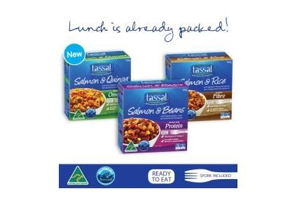 Tassal launches snack, breakfast products