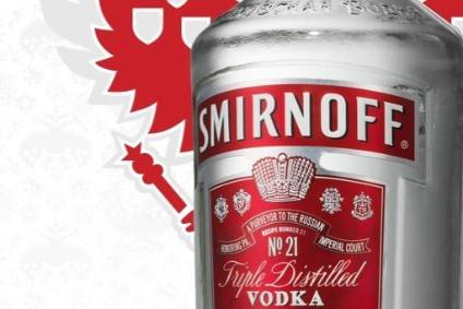 Exclusive - Diageo upbeat on Smirnoff's future