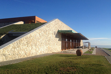 Avincis employed an architect to design their winery and visitor centre