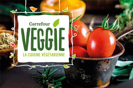 Carrefour claims French market first with veggie range