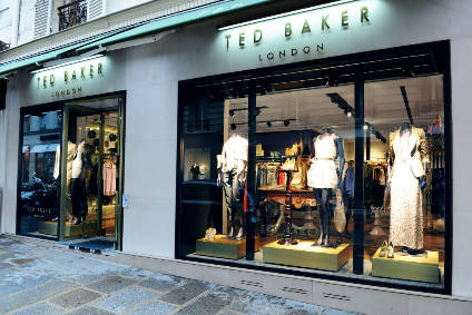 "Ted Baker booked sales growth despite ""challenging market conditions"""
