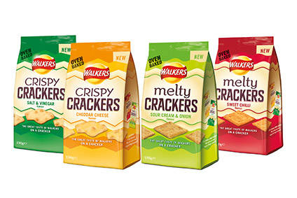 PepsiCo launches crackers in UK under Walkers brand