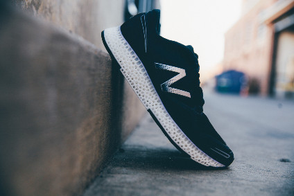 New Balance 3D printed performance running shoe