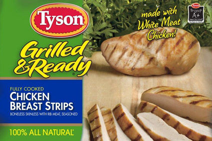 Tyson shares tumbled in early trading today