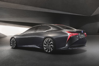 The LF-FC fuel-cell concept was shown at Tokyo last month and previews the next LS. While a potential fuel cell version of the next LS is some years off, the standard car should be revealed at the Detroit auto show in January.