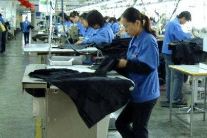 China, the largest supplier of apparel to the US, booked the largest fall in shipment growth