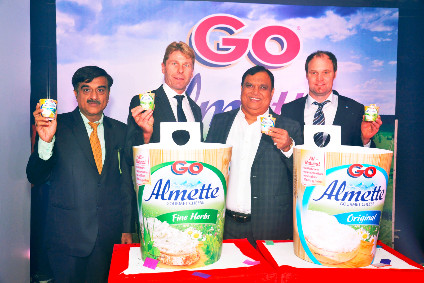 Parag CMO Israni and Hochlands Rogg unveil Go Almette cheese