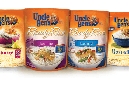 Uncle Ben's owner Mars will only source 'sustainable' rice by 2020