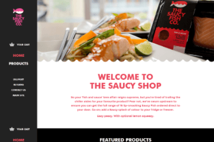 The Saucy Fish Co. debuts its online shop