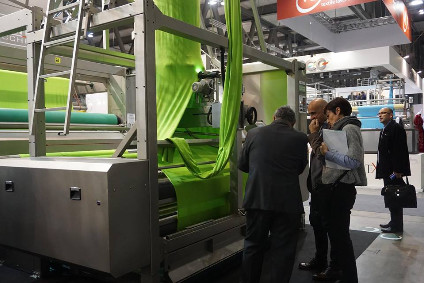 ITMA 2015 saw a record 1,691 exhibitors from 46 countries, showing the latest apparel and textile technologies