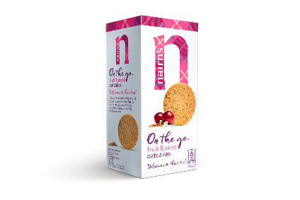 Nairns portion-packed oatcakes launched last year
