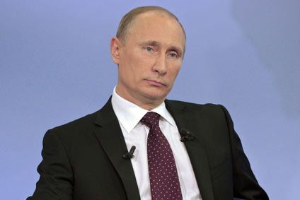 "Putin called downing of jet ""a stab in the back"""