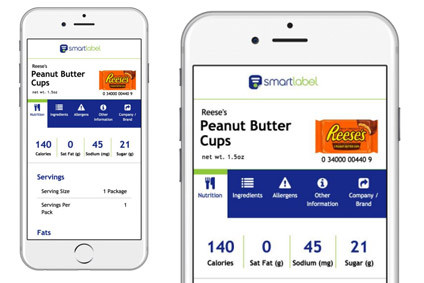30 US food firms sign up to SmartLabel transparency initiative