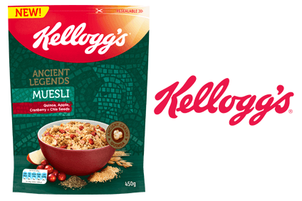 Kellogg is launching an ancient grains cereal line in the UK