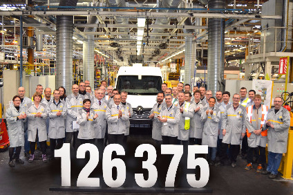 Renaults Batilly large van plant set a new production record in 2015