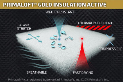 Primaloft unveils new insulation for outdoor wear for Moisture resistant insulation