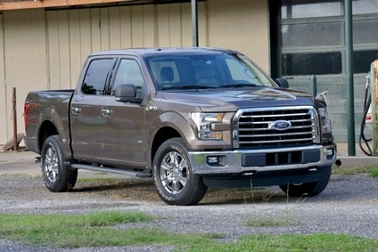 The 2015 F-150 is due to be with US dealers from December