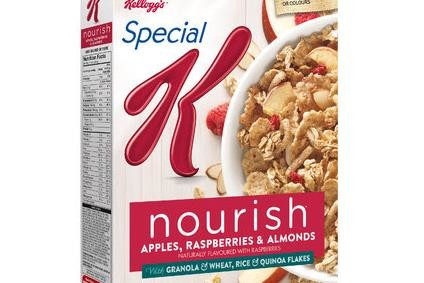 Kellogg seeing progress on US cereal but snacks in doldrums