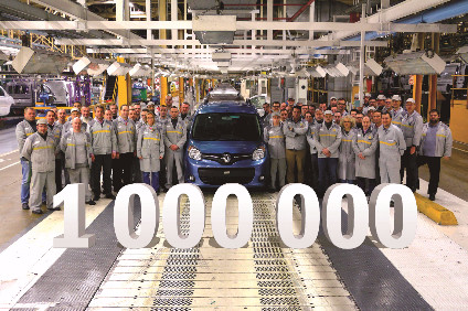 The millionth 2G Kangoo is bound for Japan