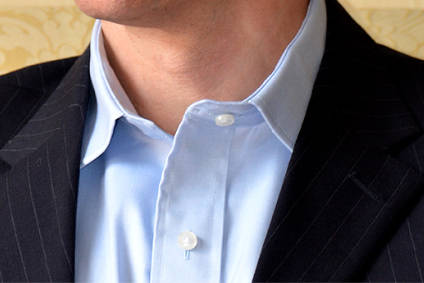Pvh to launch men s shirts with magnetic closures for Mens shirts with snaps instead of buttons