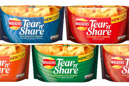 PepsiCo launches Walkers Tear n Share in UK