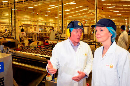 Truss visits Weetabix plant to announce establishment of new government office