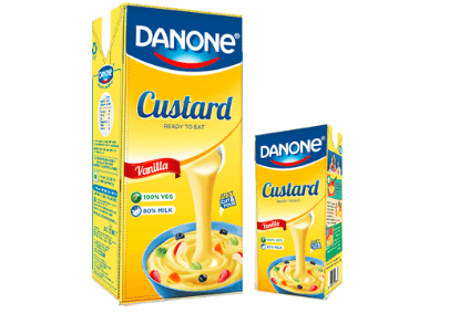 Danone launches ready-to-eat custard in India