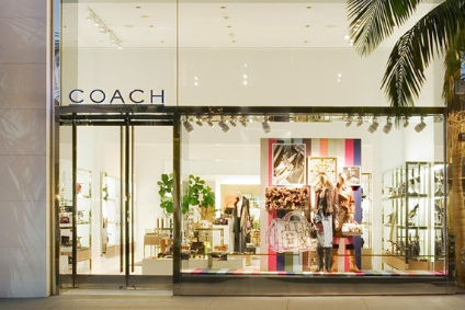 Coach saw its net profit fall, but sales grow in the quarter