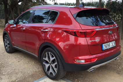 Kia Sportage 4G - much improved, particularly inside