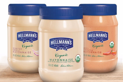 Hellmanns - its products will be delivered alongside other recipe ingredients.